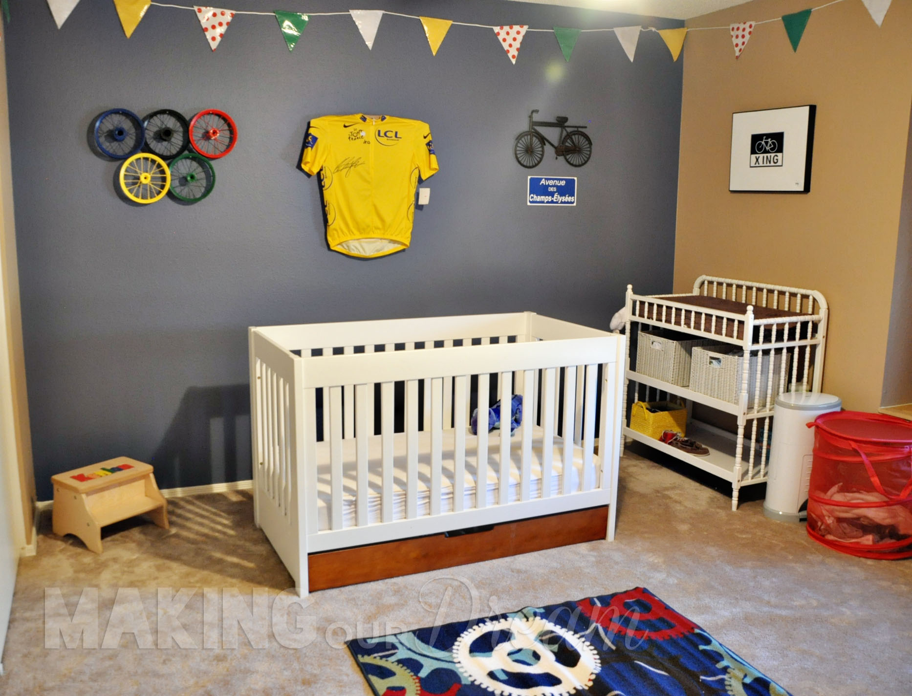 Tour de France cycling Nursery